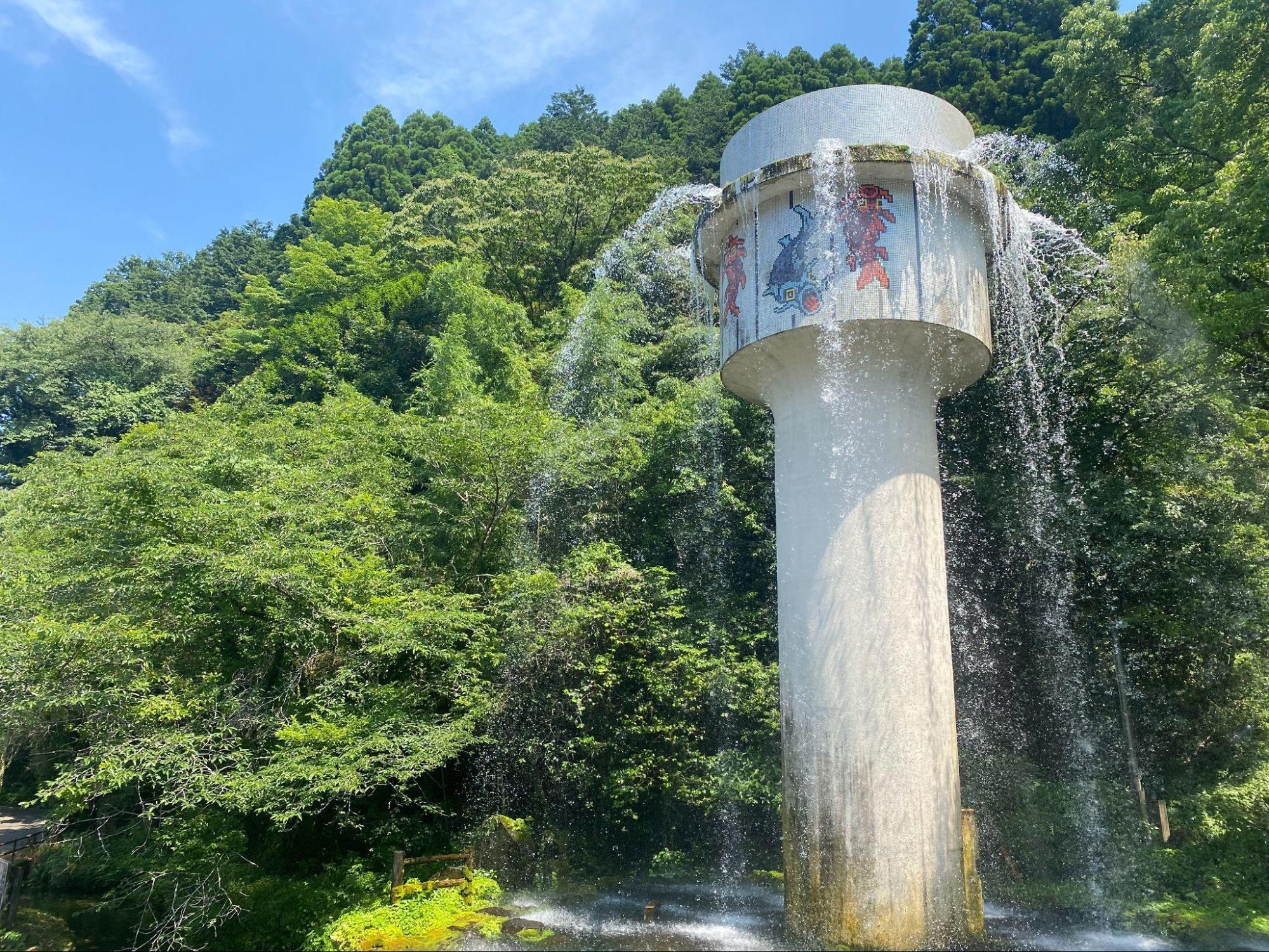 出の山公園にある取水塔