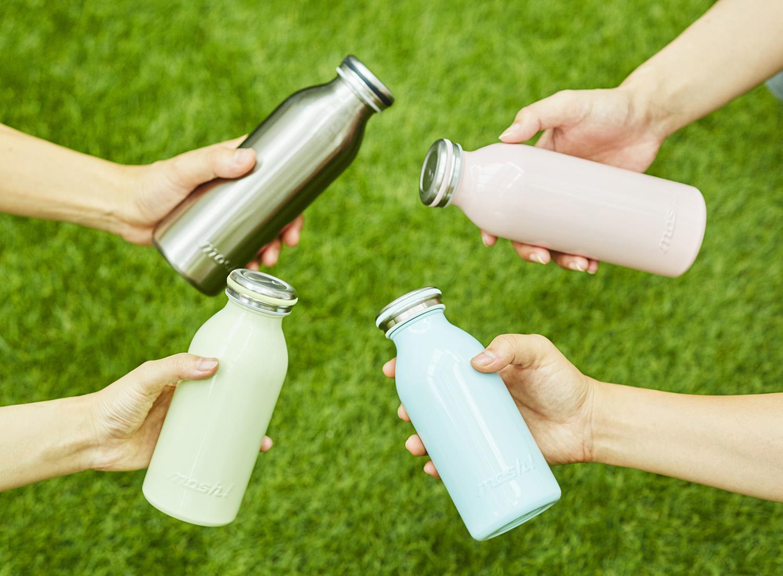 アイキャッチ:牛乳瓶のようなレトロなフォルムが人気!「mosh!」の売れ筋 …