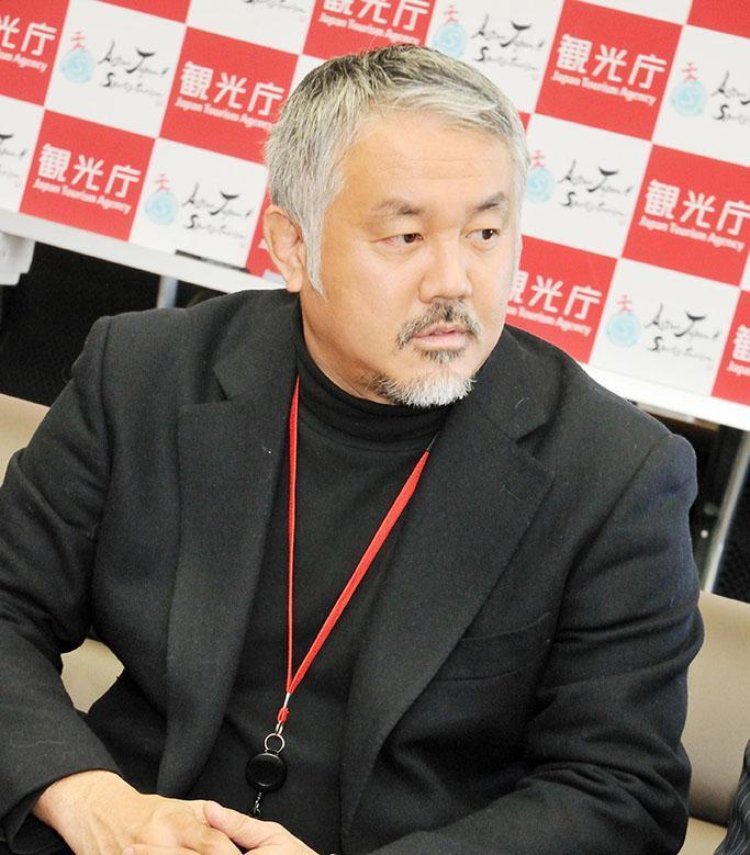 ぐらんぱう代表取締役社長の藤野さん