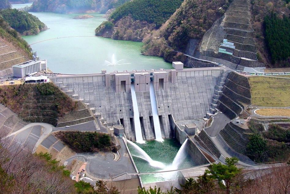 アイキャッチ:静岡・大井川から人々を守り、観光にも貢献する治水の要・長島ダ …