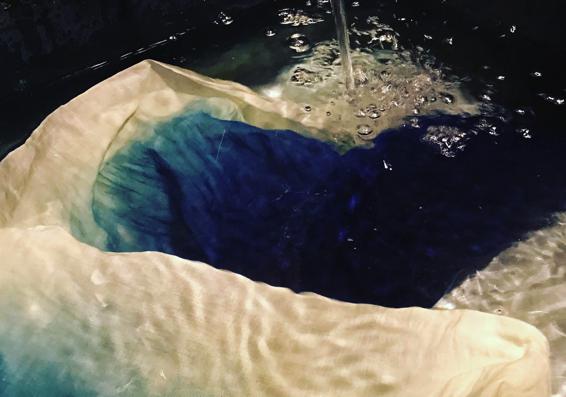 アイキャッチ:札幌発の天然藍染工房「藍染坐忘」できれいな水が生み出す藍色の …